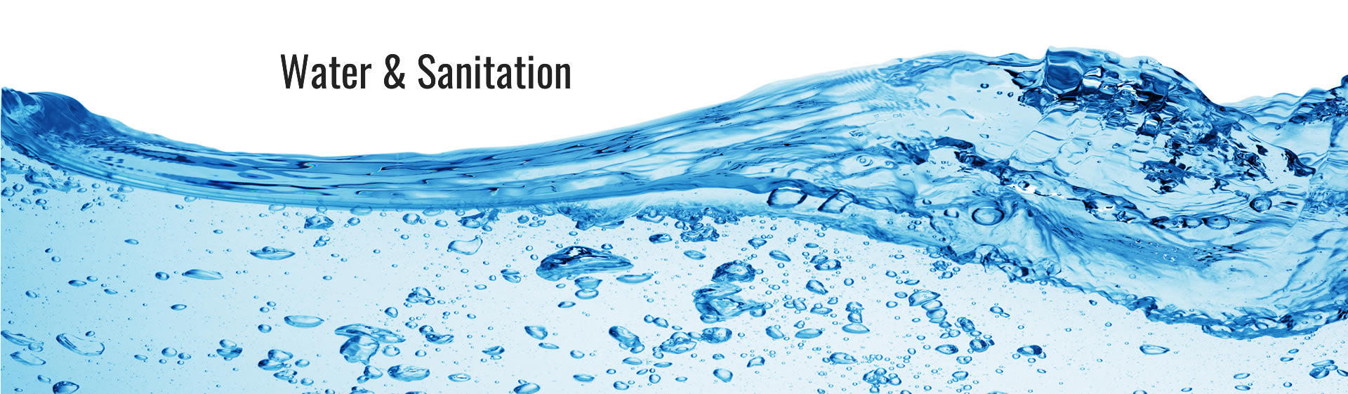 water & sanitation consulting